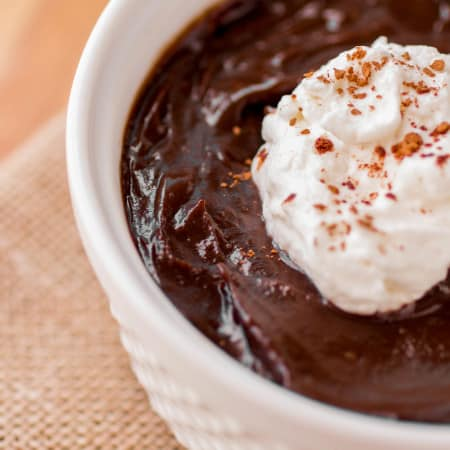 The Best Chocolate Pudding - Sprinkle Some Sugar