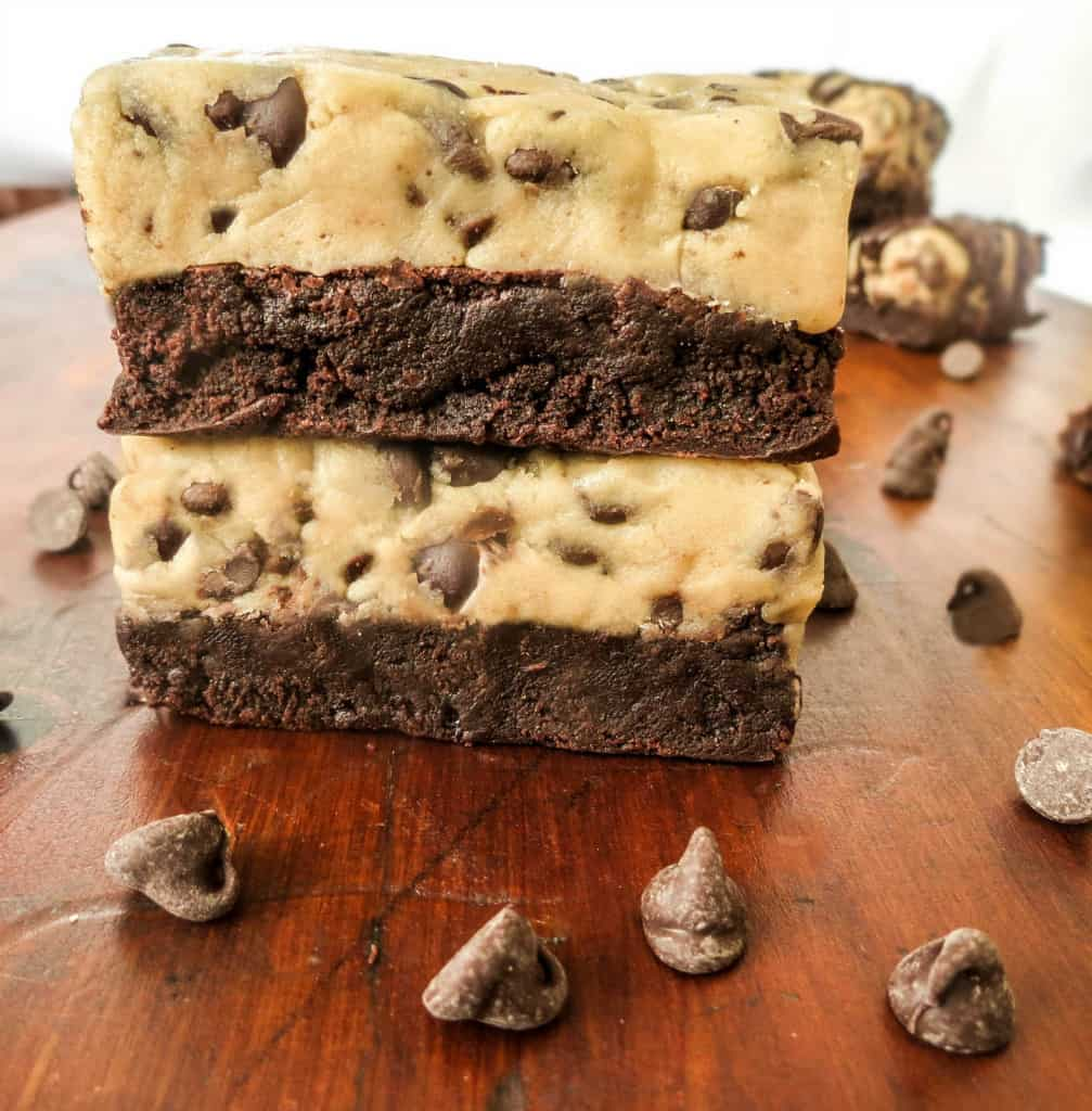 Cookies Brownies And Bars Cookie Dough Brownie Bars