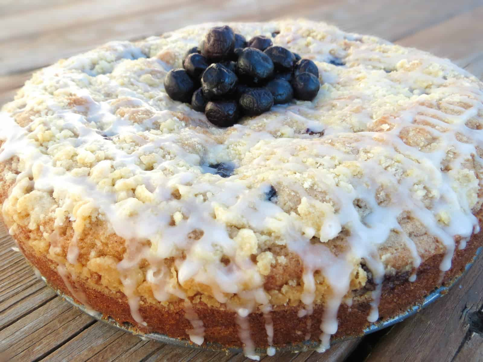 How To Make Blueberry Crumb Cake