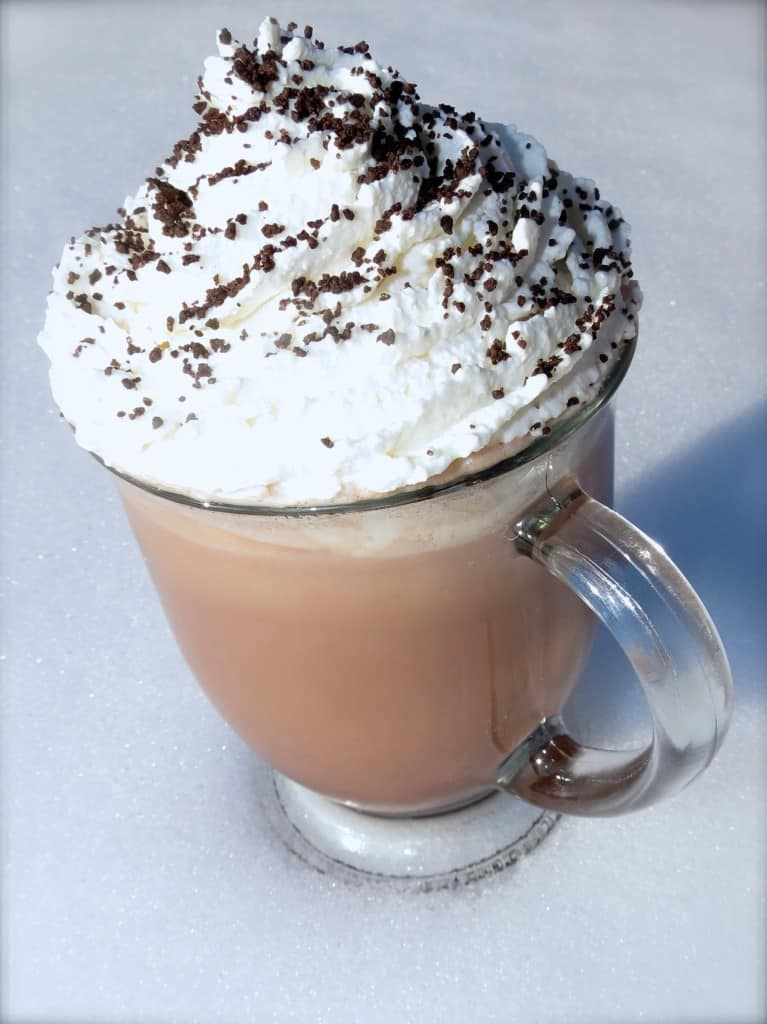 Rich, Creamy Hot Chocolate. The only Hot Chocolate I ever make for my family! They love it!