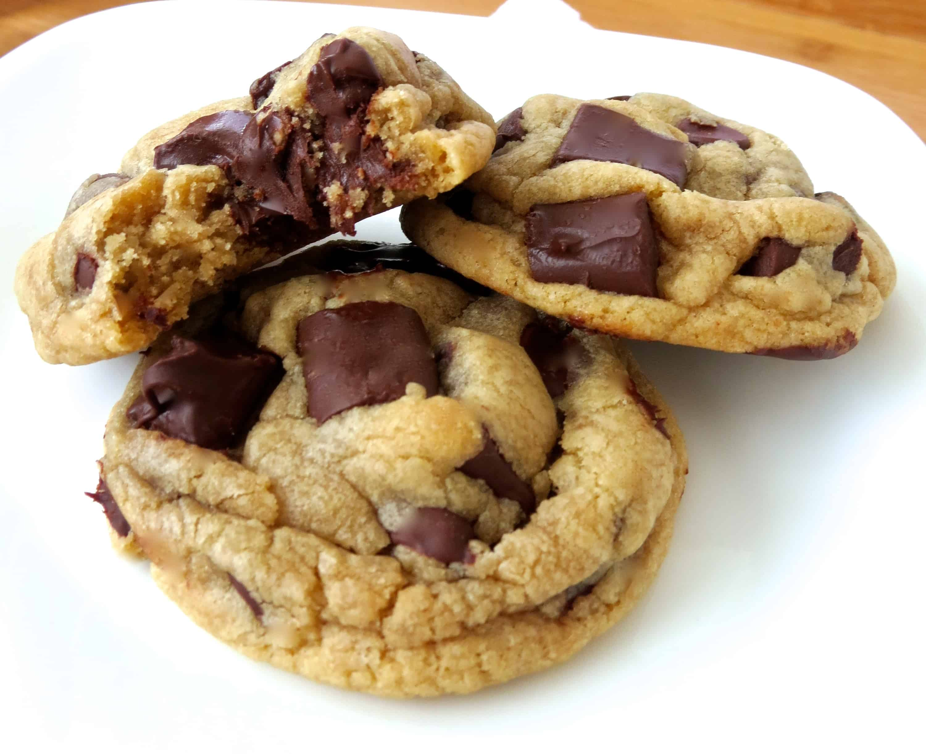 Thick Chocolate Chunk Cookies! You will never need another Chocolate ...