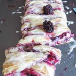 ... glazed blackberry cheese danish braid cherry cheese danish braid