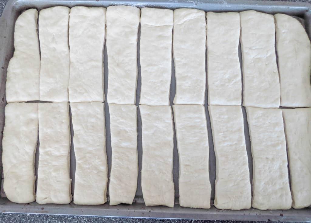 Easy Garlic Parmesan Bread Sticks