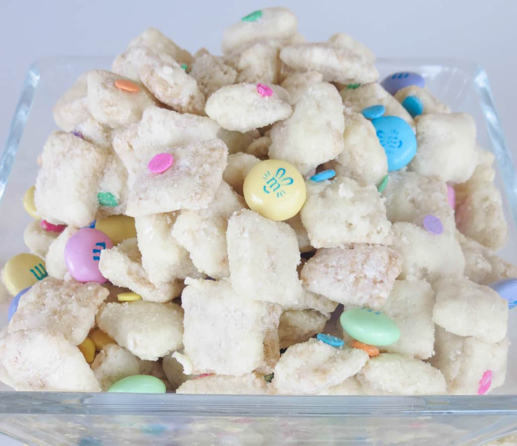 Cake Batter Easter Puppy Chow