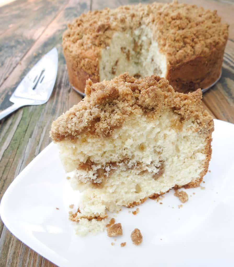 Cinnamon Swirl Coffee Cake - Sprinkle Some Sugar