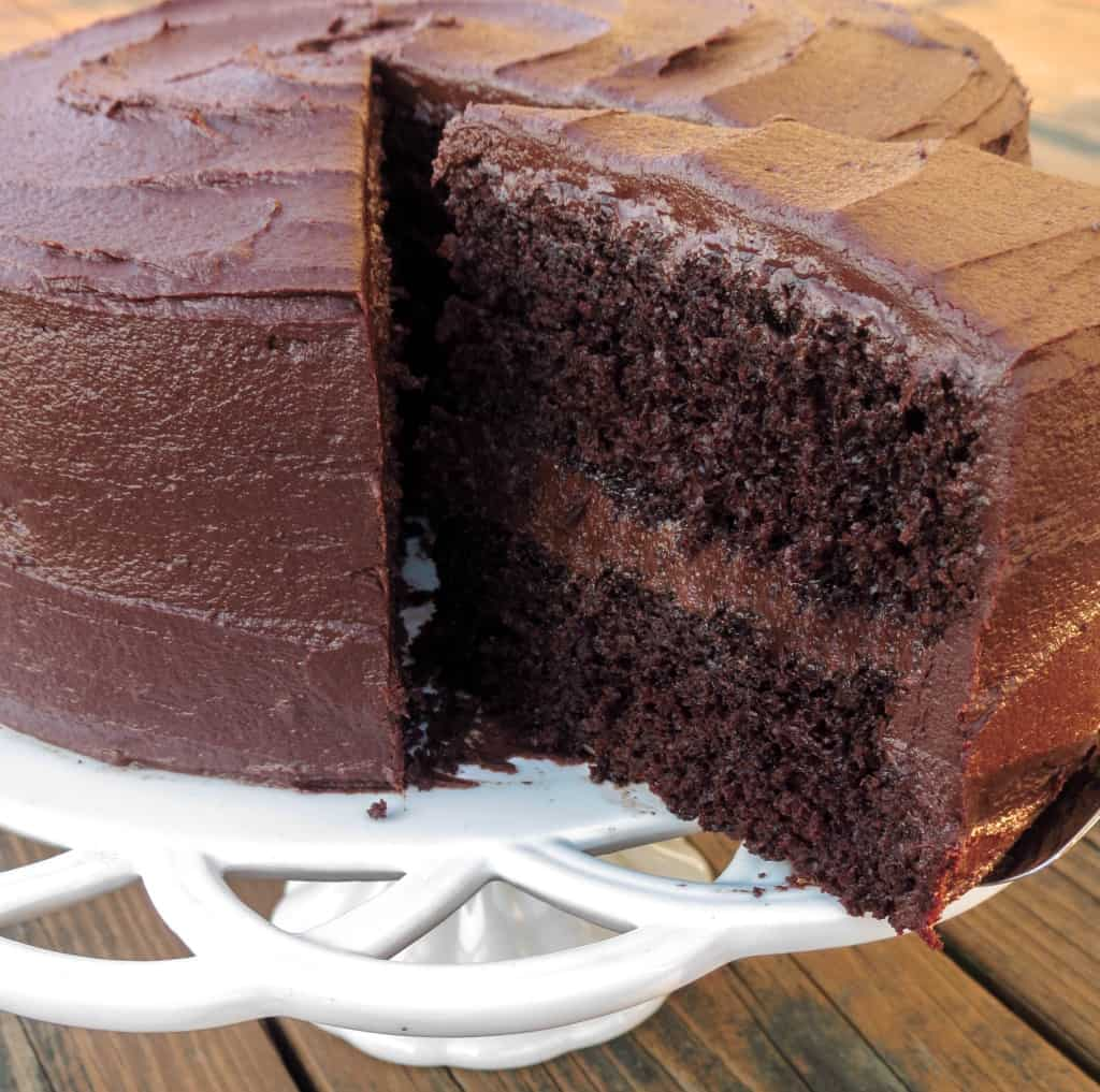 THE Ultimate Chocolate Cake