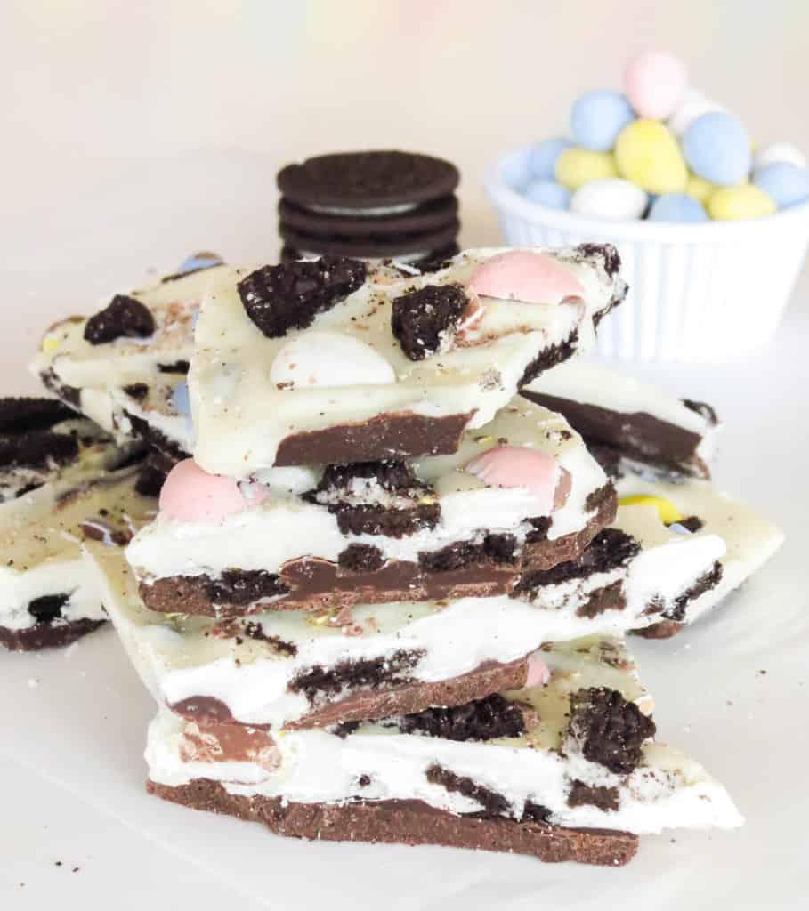 Easter Cadbury Oreo Bark