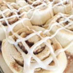 Caramel Apple Cinnamon Rolls With Brown Sugar Cream Cheese Frosting