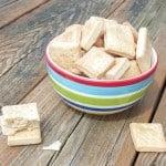 Homemade Parmesan Crackers