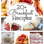 20+ Breakfast Recipe Roundup!