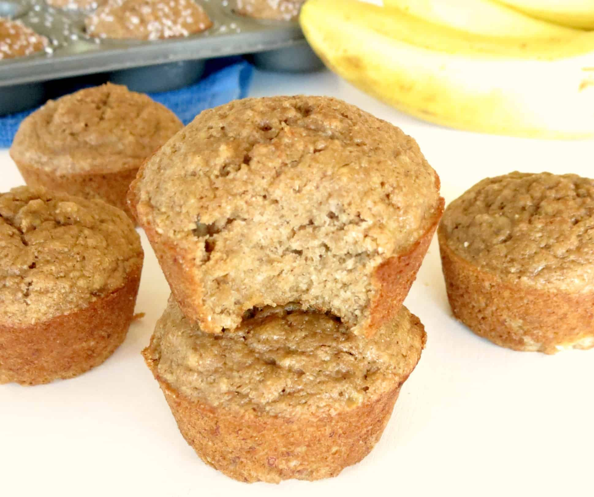 My Favorite Skinny Banana Muffins Sprinkle Some Sugar