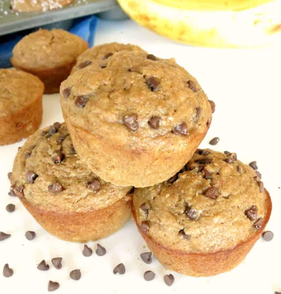 My Favorite Skinny Banana Muffins