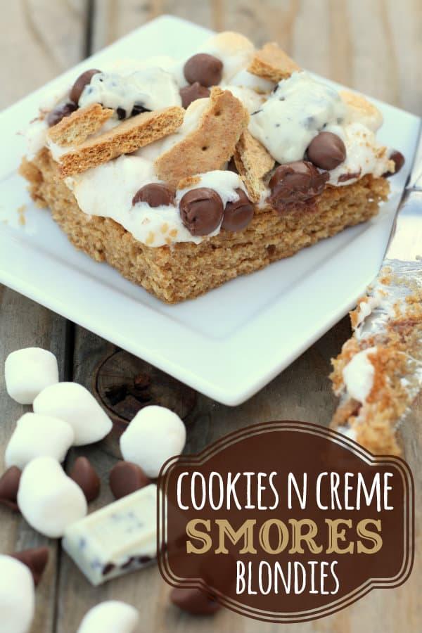 Cookies-N-Creme-Smores-Blondies-two-favorites-put-together-YUM-smores-blondies