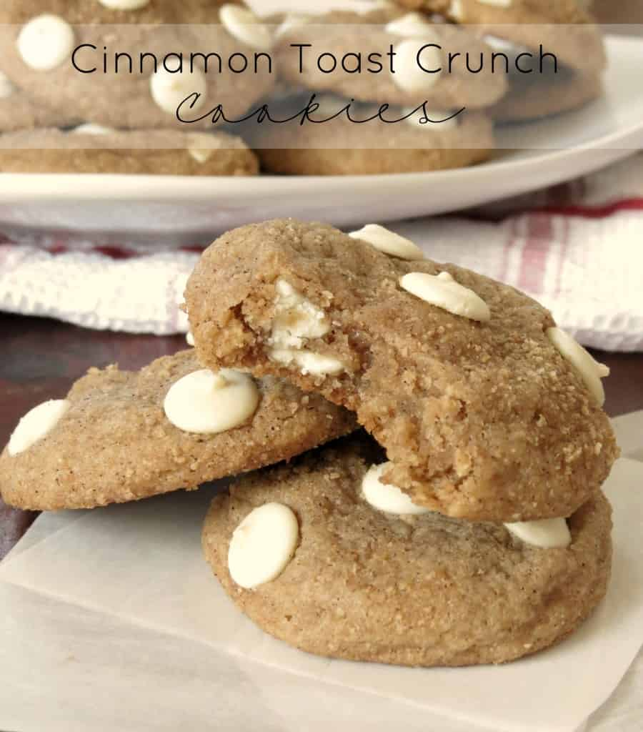 Cinnamon Toast Crunch Cookies - Sprinkle Some Sugar