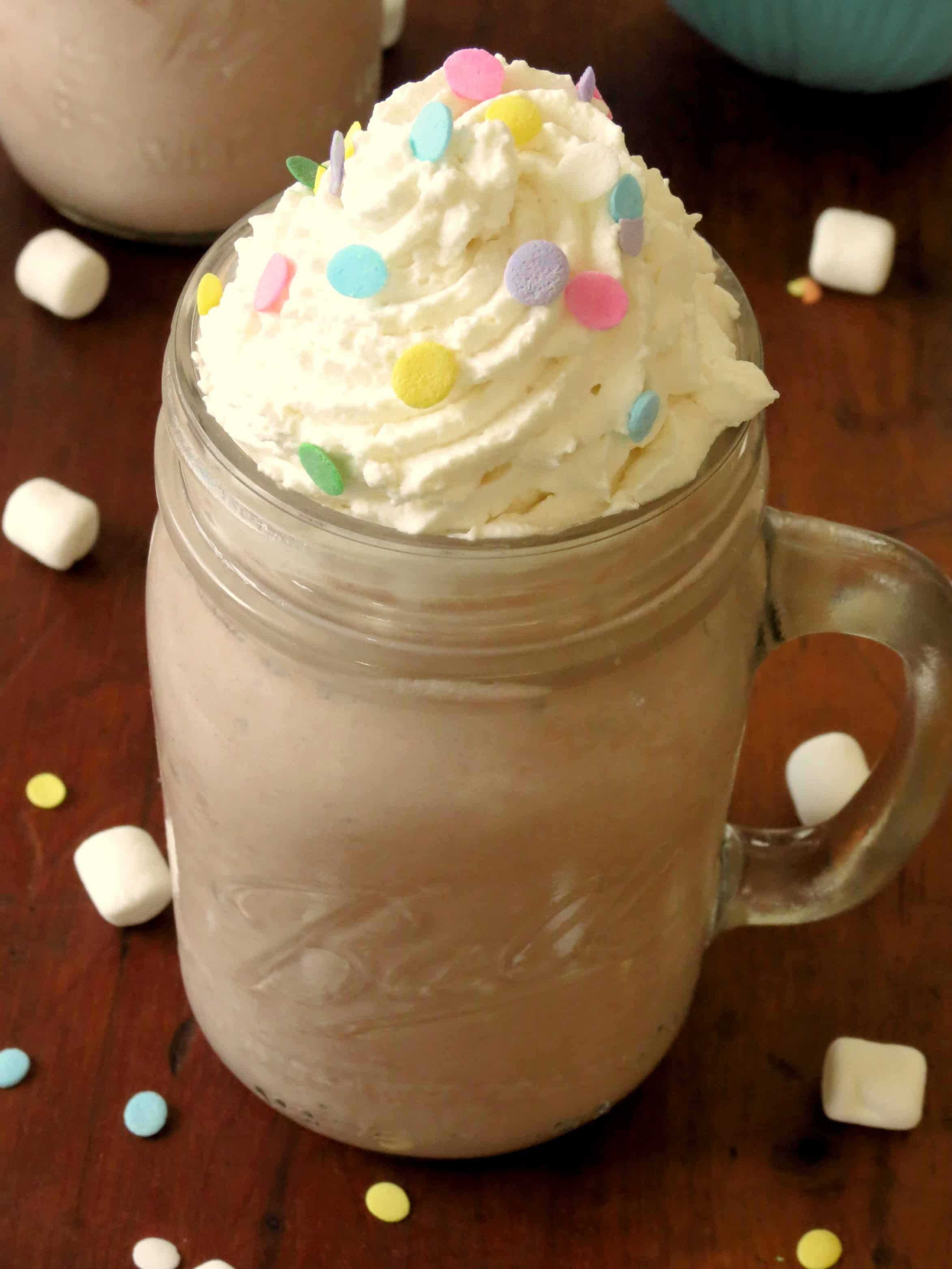 creamy mocha hot chocolate on creamy hot cocoa vegan hot chocolate ...