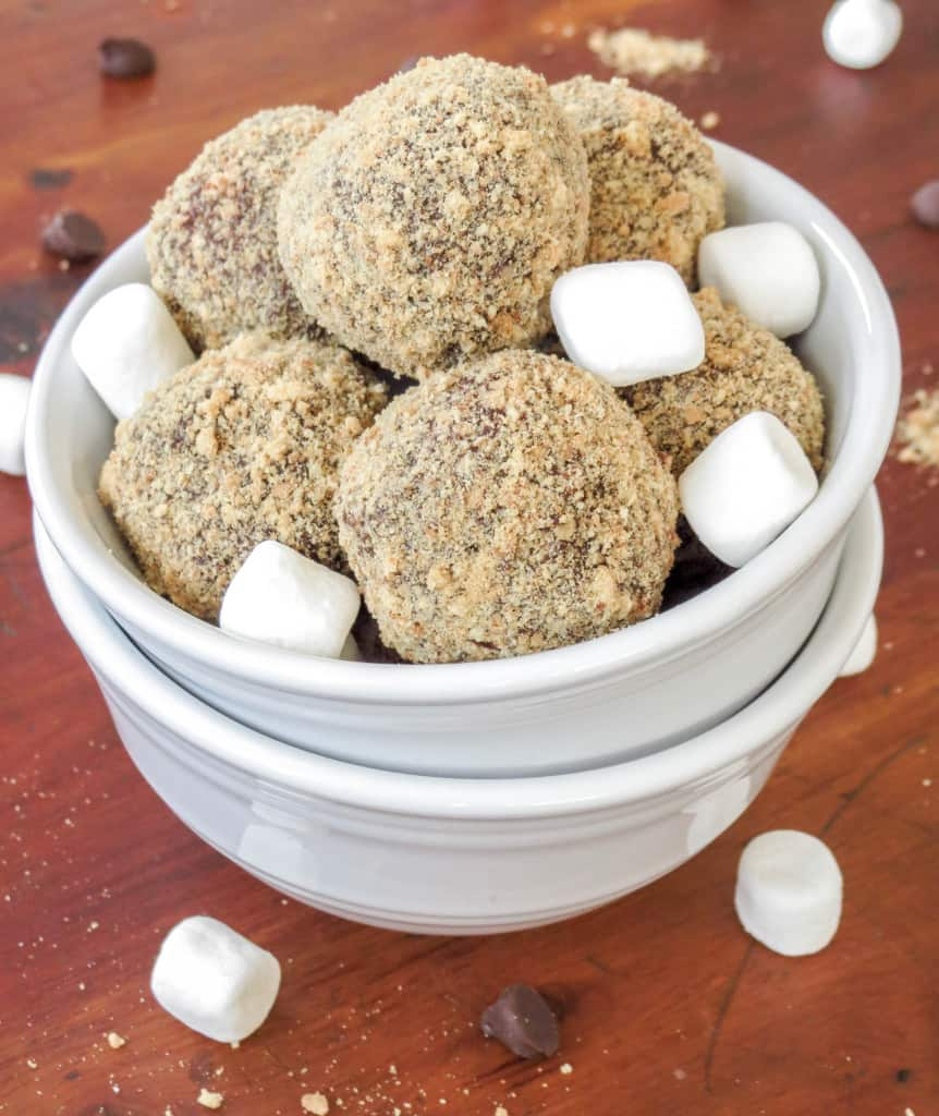 S'mores Truffles - Sprinkle Some Sugar