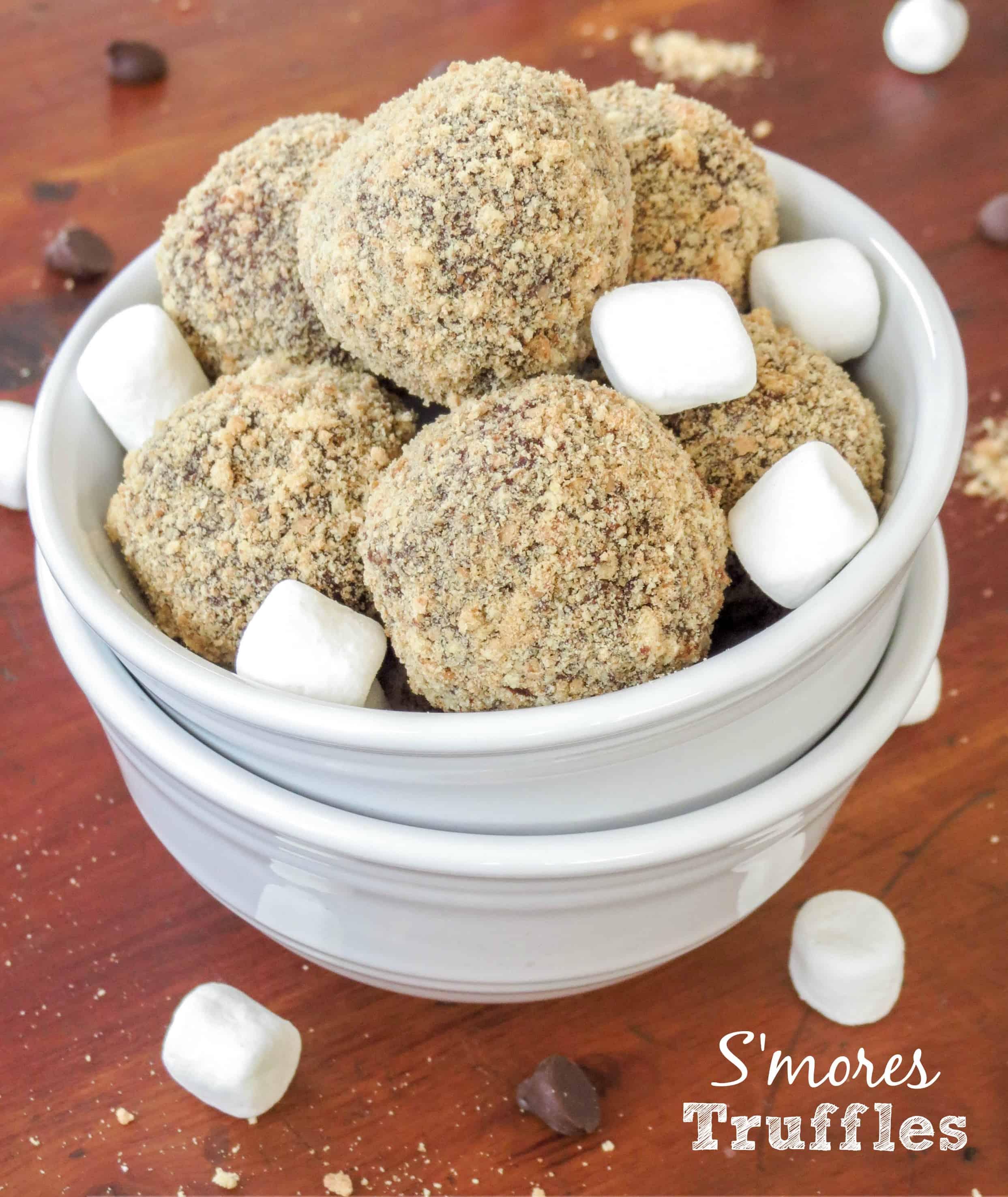 mores Truffles - Sprinkle Some Sugar