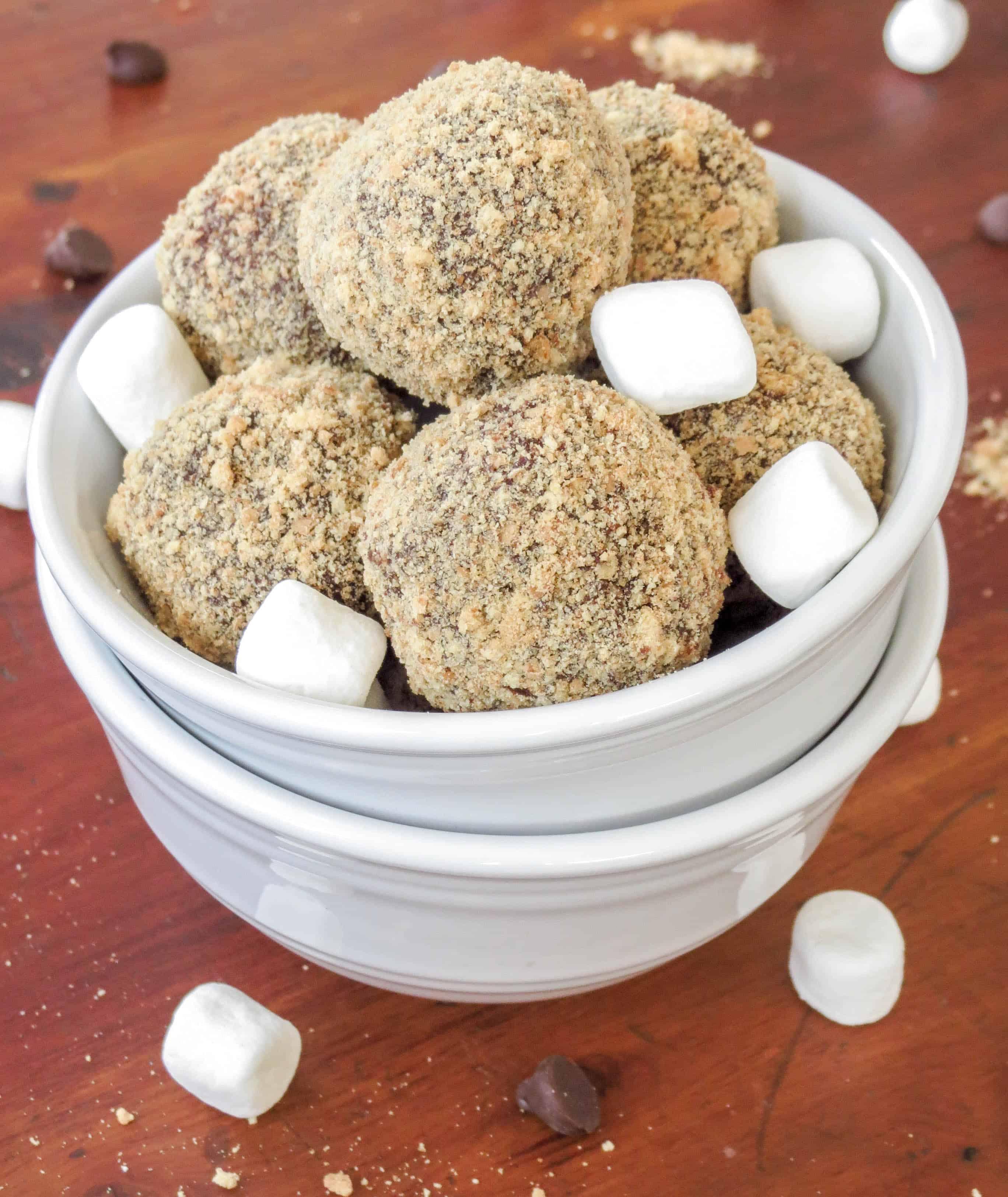 S'mores Truffles - Sprinkle Some Sugar