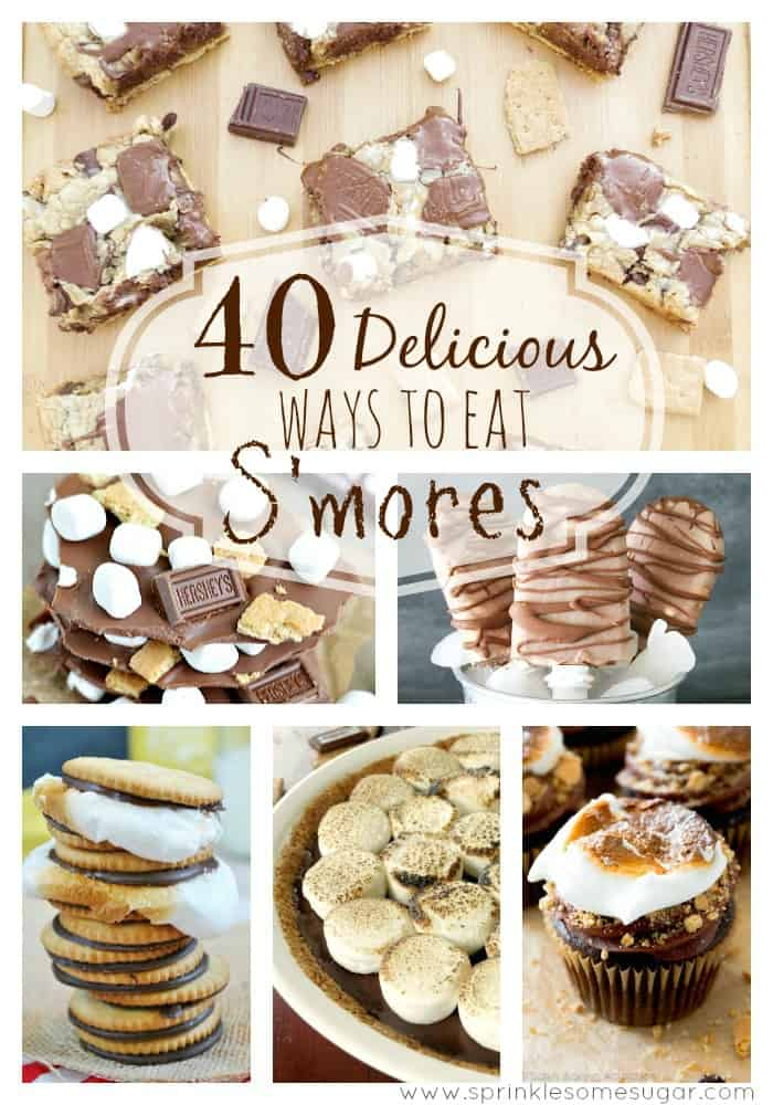 40 Delicious Ways to Eat S'mores - Sprinkle Some Sugar