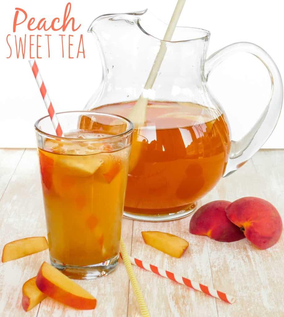 Peach Sweet Tea - Sprinkle Some Sugar