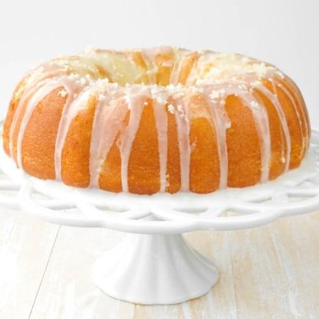 Super Lemon Bundt Cake - Sprinkle Some Sugar