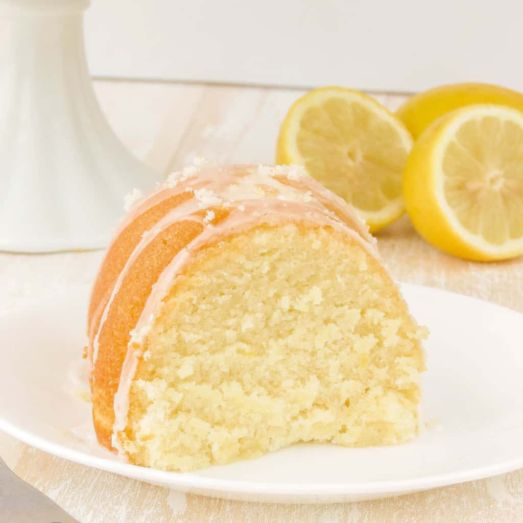 Bundt Lemon Cake From Scratch