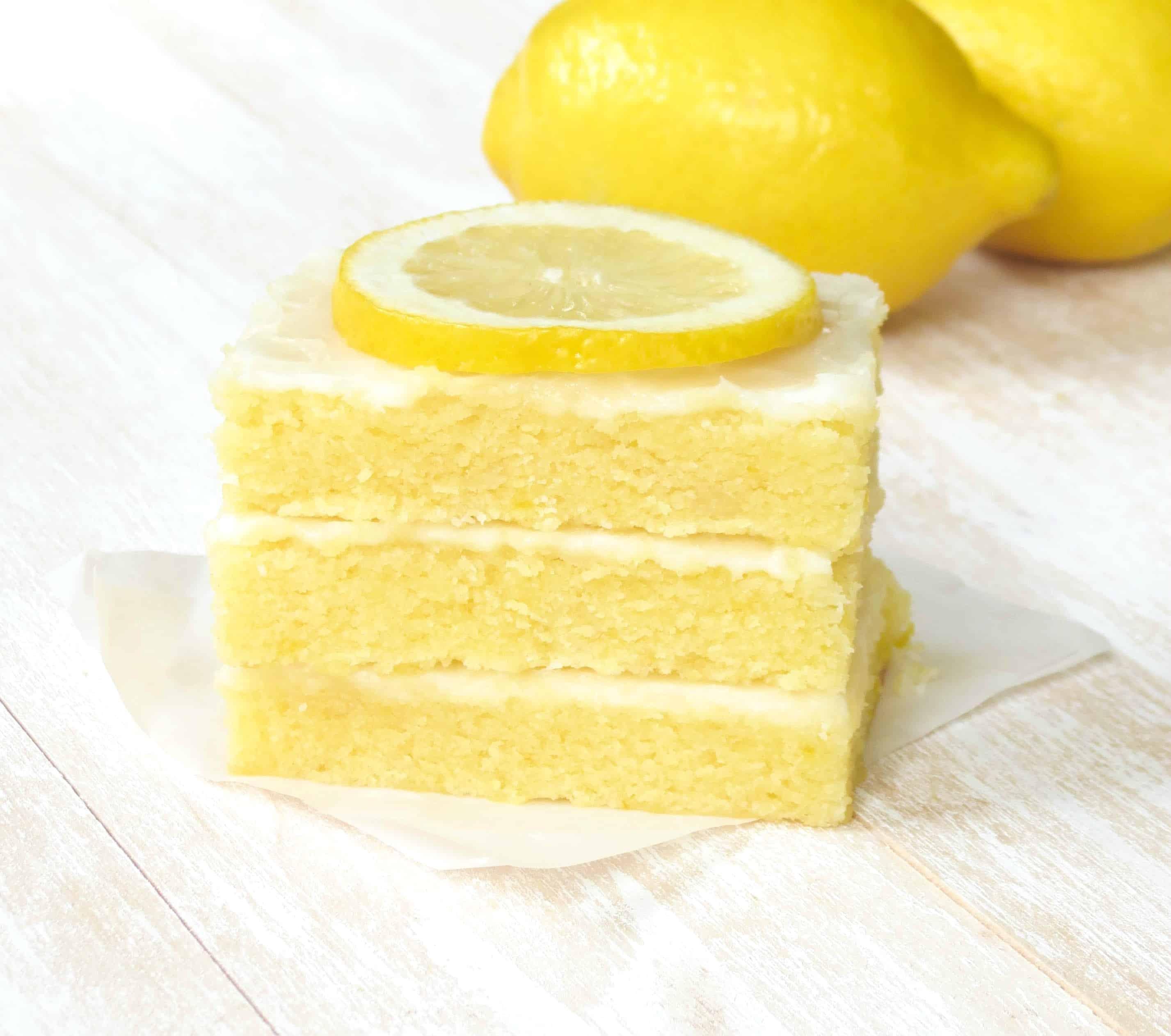Lemonies stacked.
