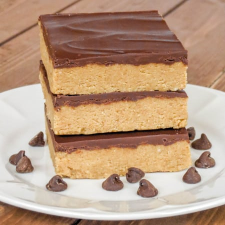 Peanut Butter Cup Bars - Sprinkle Some Sugar