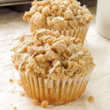 Cinnamon Swirl Coffee Cake Muffins - Sprinkle Some Sugar
