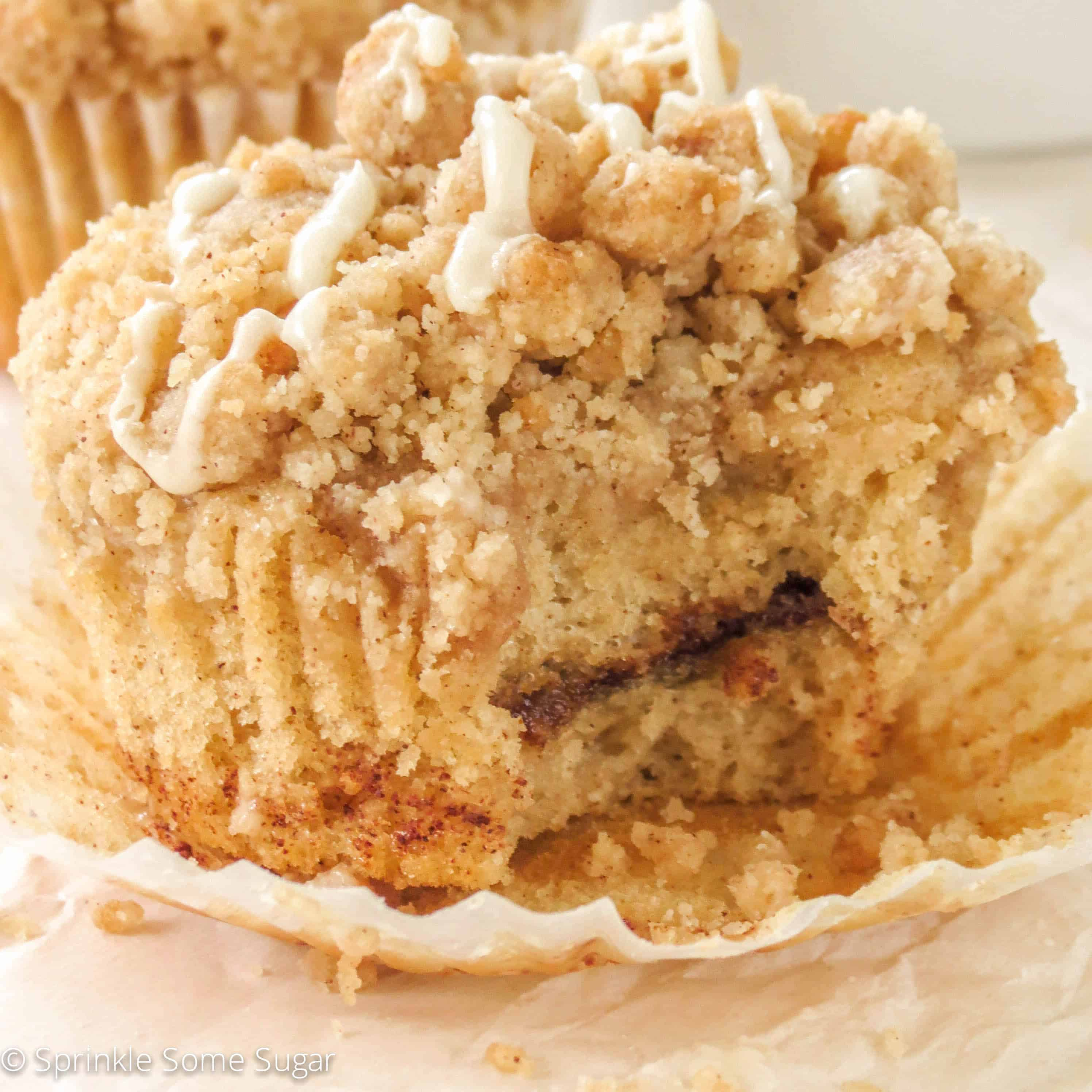 So…. if you want to make the best cinnamon swirl coffee cake muffins ...