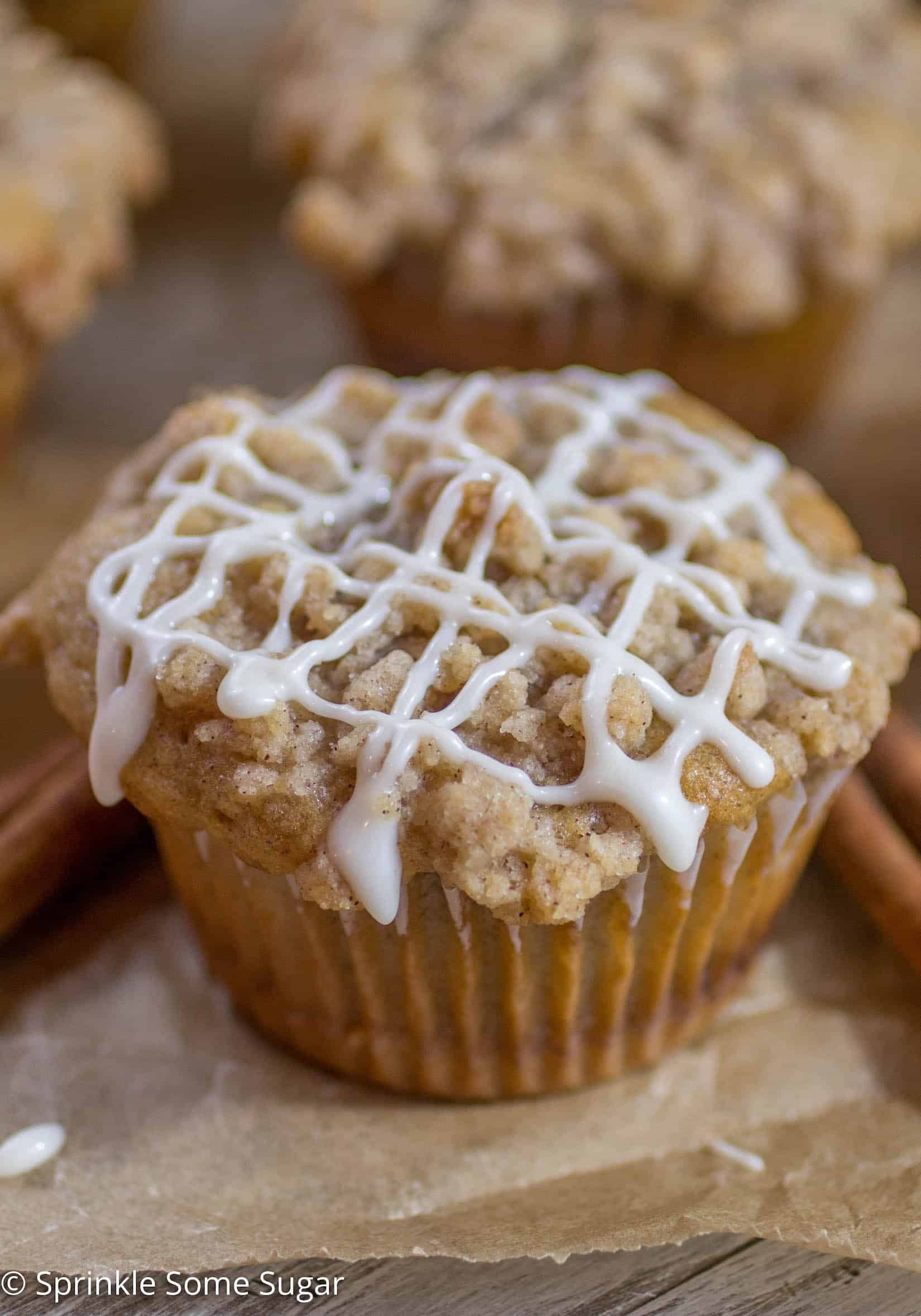 Cinnamon Swirl Coffee Cake Muffins Recipe