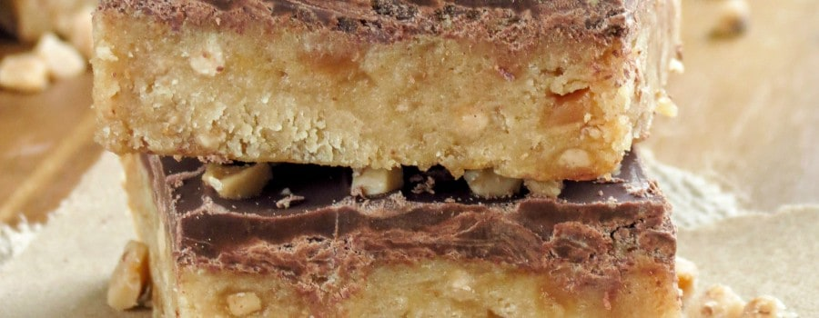 Caramel Toffee Bars