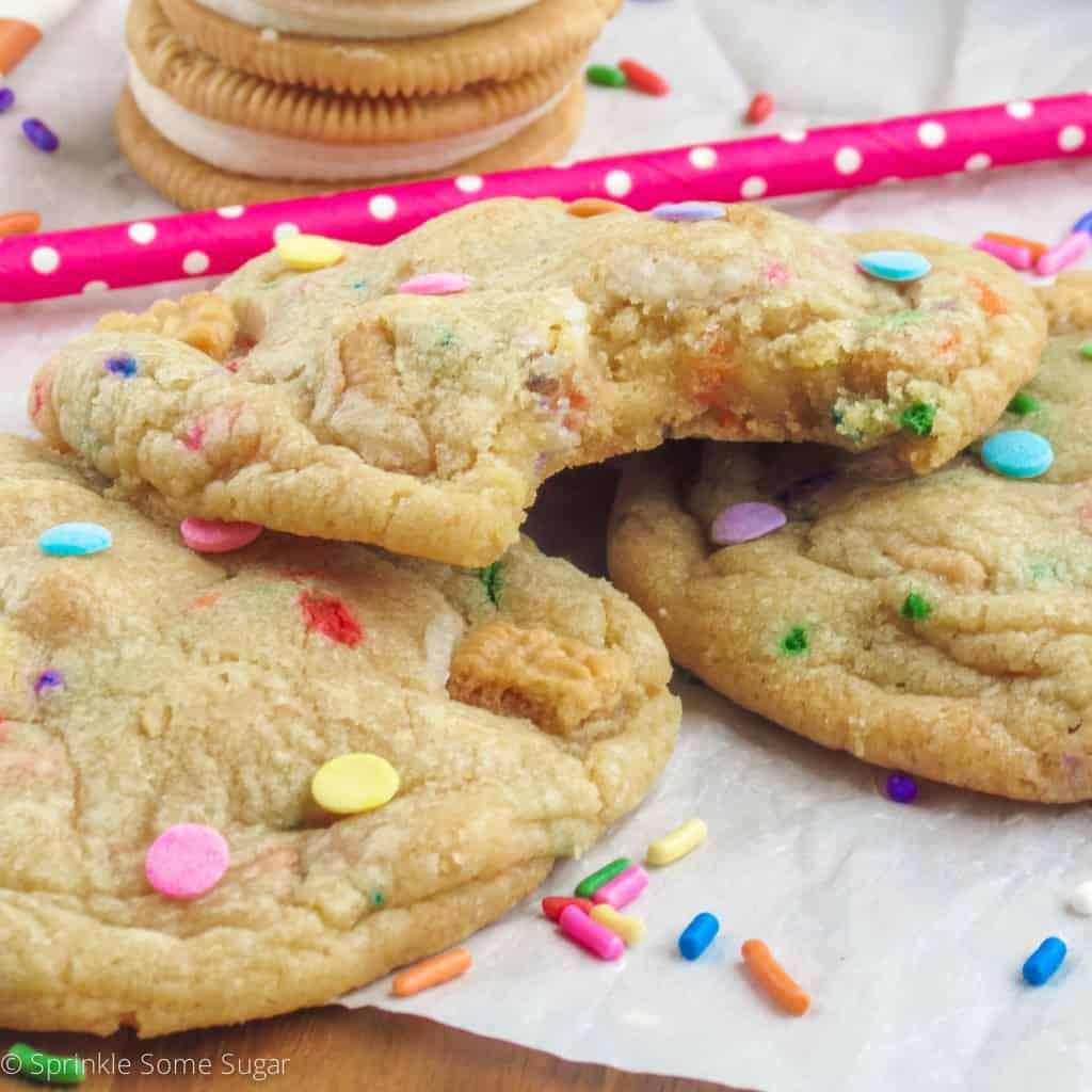 Birthday Cake Golden Oreo Cookies