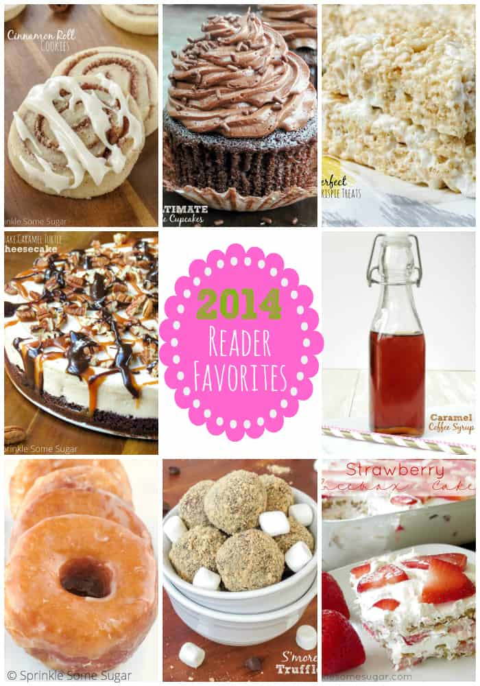 2014 reader favorites - Sprinkle Some Sugar