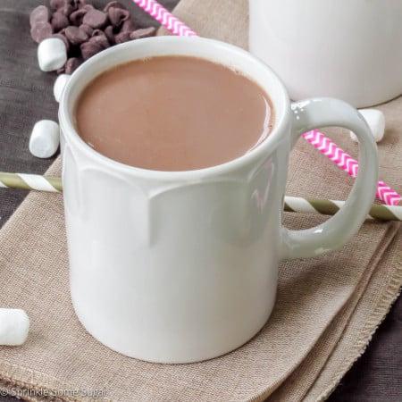 Homemade Hot Chocolate - Sprinkle Some Sugar