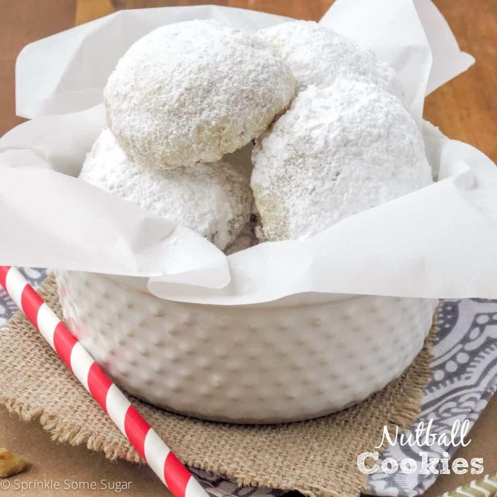 Nutball Cookies - Sprinkle Some Sugar