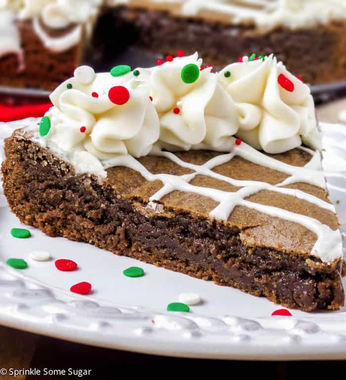 Gingerbread Cookie Cake - Sprinkle Some Sugar