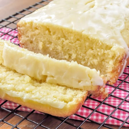 Lemon Loaf - Sprinkle Some Sugar