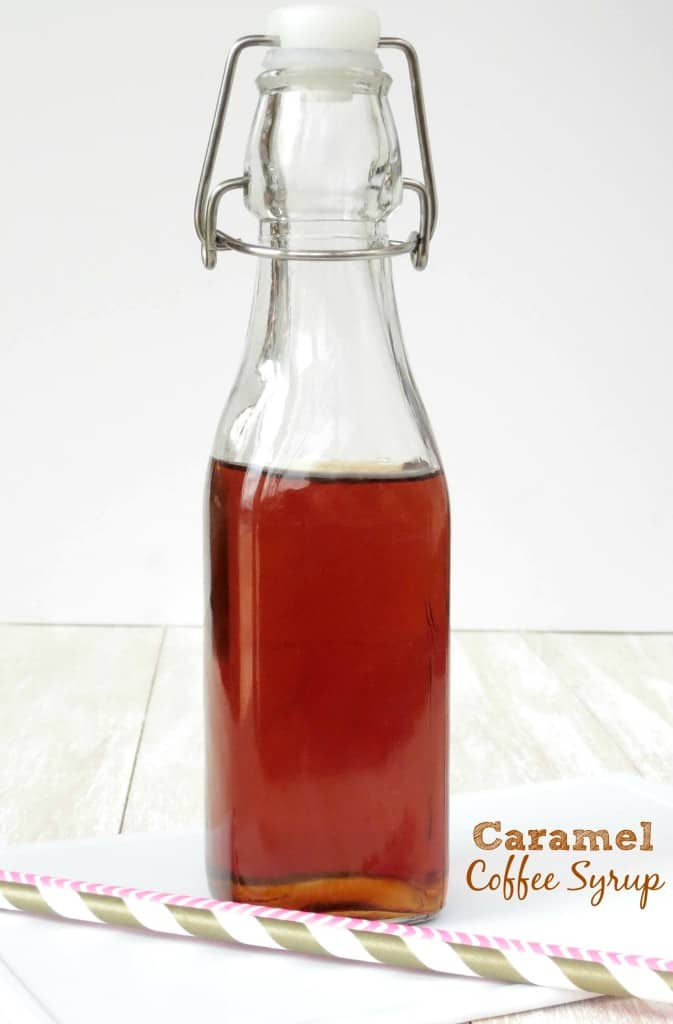 Caramel Coffee Syrup - Sprinkle Some Sugar
