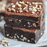 Mint Overload Truffle Brownies