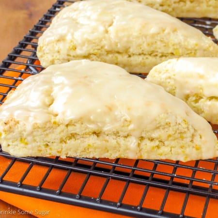 Fresh Orange Scones - Sprinkle Some Sugar