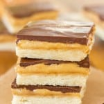 Homemade Tagalong Bars