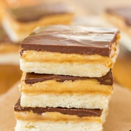 Homemade Tagalong Bars - Sprinkle Some Sugar