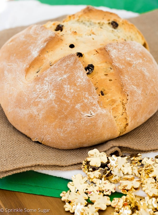 Traditional Irish Soda Bread - Sprinkle Some Sugar