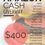 Spring Giveaway: $400 Amazon Cash!
