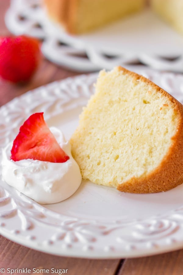 Butter Pound Cake - Sprinkle Some Sugar