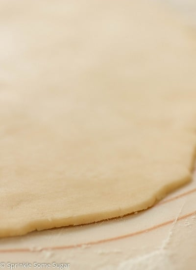 Perfect Flaky All Butter Pie Crust - Sprinkle Some Sugar