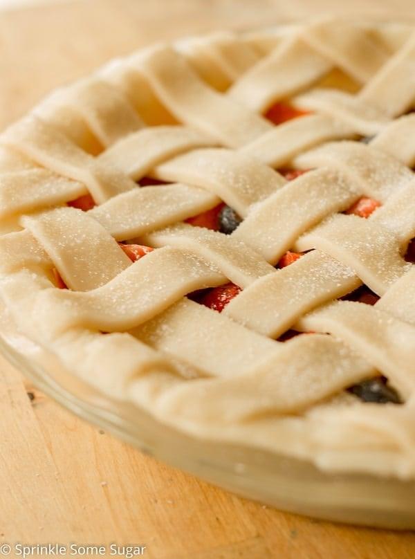 Very Berry Pie - Sprinkle Some Sugar