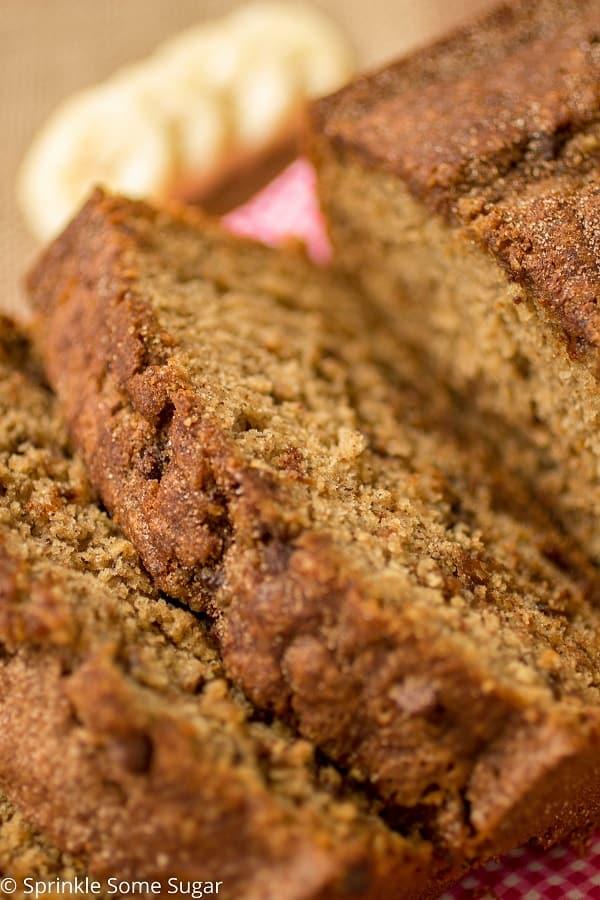 Chocolate Chip Banana Bread - Sprinkle Some Sugar