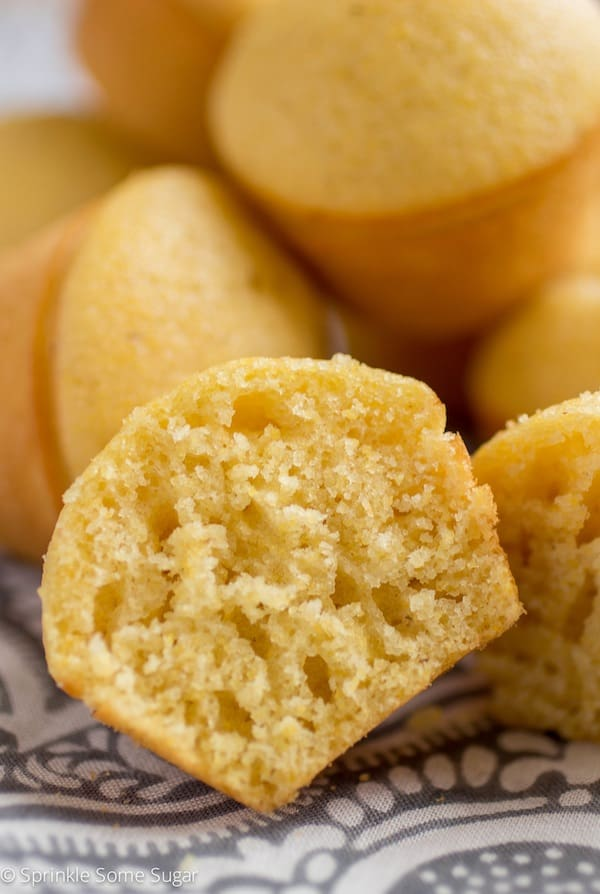 Honey Corn Muffins - Sprinkle Some Sugar